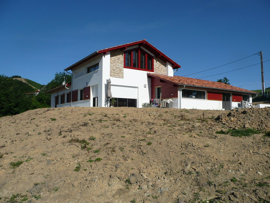 Hidalgo pascale architectes h lette hidalgo pascale helette t l phone 0559939406 for Photos maison basque